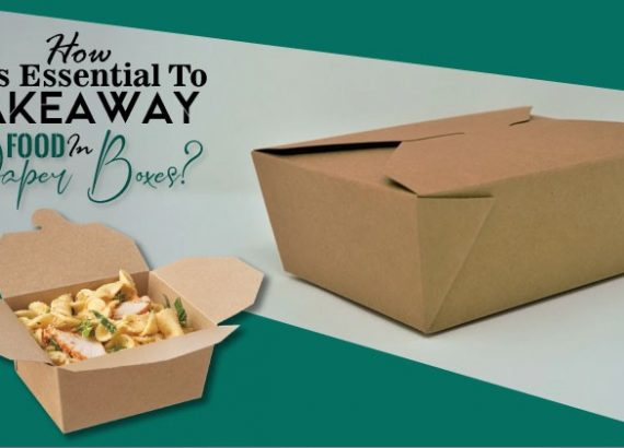 How it is essential to takeaway food in paper boxes